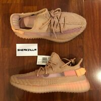 Adidas Yeezy Boost 350 V2 CLAY EG7490 YZY Kanye 100% AUTHENTIC NEW Size 5-9.5