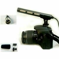 For SONY ECM-XM1 Camera Sharp Directivity Clip-On Gun Microphone Accessories