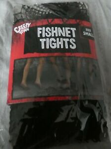 Black Fishnet Tights halloween costume creepy town size small