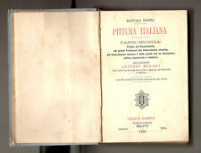 1886 - PITTURA ITALIANA – HOEPLI