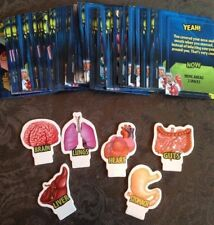 Doctor Dreadful Scabs N'Guts Board Game Replacement Player Cards And Movers