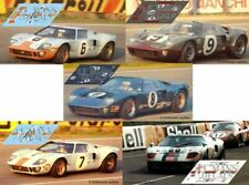 Decals Ford GT40 Le Mans 1969 6 7 8 9 68 1:32 1:24 1:43 1:18 64 87 MkII calcas