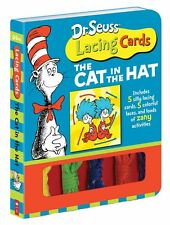 Dr. Seuss Lacing Cards The Cat in the Hat  (box set) by Dr. Seuss NEW