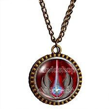 Jedi Order Necklace Pendant Jewelry Symbol Logo Emblem Cosplay