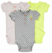 Carter's Baby Girls' 3-pk Bodysuit Polka Dot 3 Months