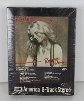 New NOS Kim Carnes Vintage 8 Track Tape Cartridge Romance Dance 1980 Rock