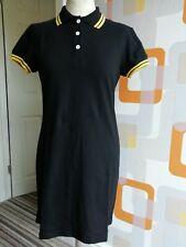 Black polo style dress size 16, scooter, mod, 60s, skinhead BNWT