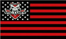 Victory Motorcycle Usa Logo 3' x 5' Flag/Banner-Free Shipping