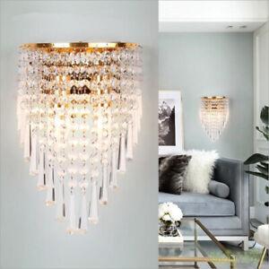 Modern Crystal Wall light LED Wall sconce Wall Lamp  Wandleuchte Bedside lamp