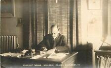 C-1910 President Thomas Middlebury College Vermont interior RPPC 7272