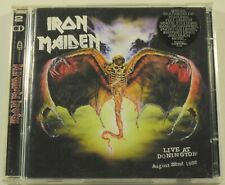 Iron Maiden Live At Donington 2xCD RARE OOP Raw Power 1998 UK Import NWOBHM