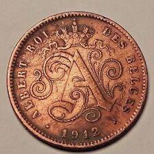 2 centimes Belgique 2 cents Belgïe 1860 => 1919 Leopold I & II Albert I Belgium
