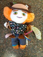 Mad Hatter Plush NWT Alice Through the Looking Glass Rare Johnny Depp