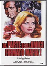 Da parte degli amici, firmato Mafia! (1971) DVD NUOVO Senta Berger, Jean Yanne,