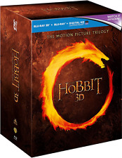 The Hobbit Trilogy [Blu-ray 3D + Blu-ray] Film Collection Gift Boxset 9 Discs