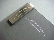 A.Lange & Sohne 16GB USB inc 3 Full Press Kits
