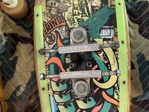 Vintage Old School Bennett Pro 70's Skateboard Trucks Santa Cruz Sims Zflex Alva