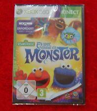 Es war einmal ein Monster Sesamstrasse KINECT, XBox 360 Spiel, Neu B-Ware