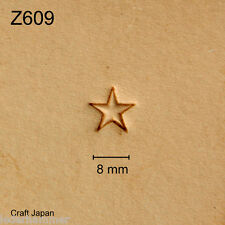 Punziereisen, Lederstempel, Punzierstempel, Leather Stamp, Z609 - Craft Japan