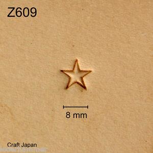 Punziereisen, Lederstempel, Punzierstempel, Leather Stamp, Z609 - Craft Japan