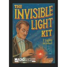 THE INVISIBLE LIGHT KIT RED PAIR BY MAGIC MAKERS LITE FROM ANYWHERE TRICK D'LITE