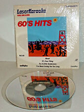 Pioneer Laser Karaoke Disc 60s Hits Vol 64 Vtg 4 Song 8 Inch