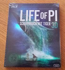 3D Blu-ray - LIFE OF PI - 2-Disc Edition NEU! OVP!