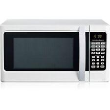 Hamilton Beach 1.1 cu ft Digital White Microwave Oven