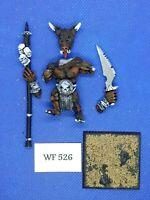 Warhammer Fantasy - Chaos Beasts - Minotaur Standard Bearer Inc. - Metal WF526