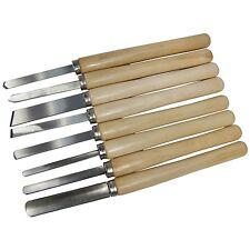 8pc Set Scalpello tornio legno tornitura modello Maker acciaio-AMTECH e1050