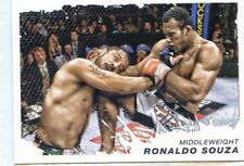 2011 TOPPS MOMENT OF TRUTH ROOKIE RC DEBUT RONALDO JACARE SOUZA STRIKEFORCE #175