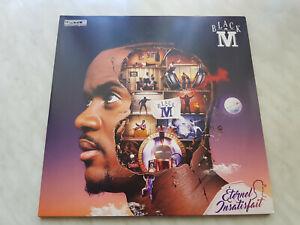 """Black M """"Éternel Insatisfait"""" französischer Hip-Hop auf 2 LPs, Vinyl, Schallplat"""