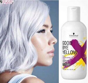 Schwarzkopf Professional Goodbye Yellow Neutralizing Wash- Shampoo 300ml Blonde