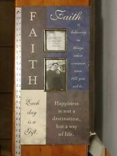 12 X 24 Faith Collage Picture Frame Kirkland's Sentiment Collection