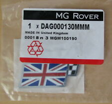 MG Rover ZT ZS ZR Union Jack Chequered Flag Boot Hatch Badge DAG000130MMM New