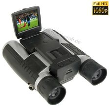 8GB FERNGLAS 12 x 32 VERSTECKTE KAMERA HD 1080p VIDEO SPYCAM ÜBERWACHUNG A121