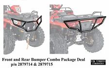 Pure Polaris Front and Rear Bumper Package Deal  Sportsman 570 ETX 450 2014-2017
