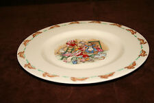Royal Doulton Bunnykins 8 Inch Salad Plate  Home Decorating Scene