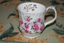 """""""Mother"""" Birthday or Mothers Day Royal Albert Cup or Mug with Lots of Roses"""