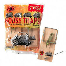 mouse trap 4 ct pack wood wooden chemical free pic