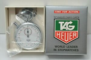 TAG HEUER WORLD LEADER IN STOPWATCHS 593 hand winding Collector items rare