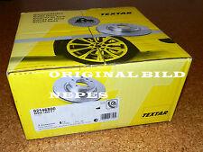 2 x TEXTAR 92146800 Bremsscheiben VA DODGE ATOS HYUNDAI ATOS ATOS PRIME (Paar)