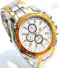 ORLANDO MEN'S Quartz STAINLESS STEEL LUXURY SPORT ANALOG QUARTZ WRIST Watch NEW