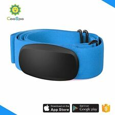 CooSpo H6 Bluetooth & ANT+  heart rate monitor strap Blue Color