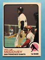 1973 Topps Card #410 Willie McCovey San Francisco Giants