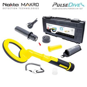 Nokta Makro PulseDive Gelb Unterwasser Metalldetektor