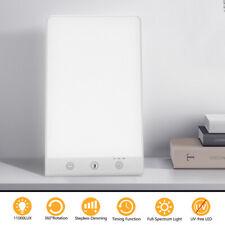Tageslichtlampe mit Memoryfunktion Lichttherapie Dimmbar LED Lampe 11000 LUX