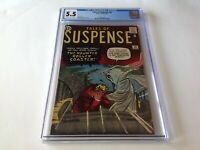 TALES OF SUSPENSE 30 CGC 5.5 HAUNTED ROLLER COASTER GHOST MARVEL COMICS
