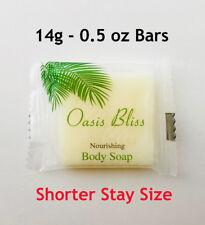 Hotel Bar Soap 14g 0 5 Oz Bulk Travel Size Bars Shorter Stay