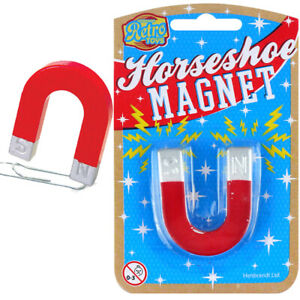MINI SCIENCE HORSESHOE MAGNET TOY GIFT PARTY BAG CHRISTMAS STOCKING FILLERS